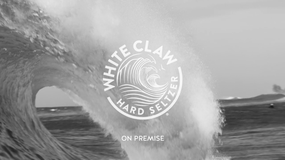 White Claw Hard Seltzer On Premise video creative and production by Agency Squid