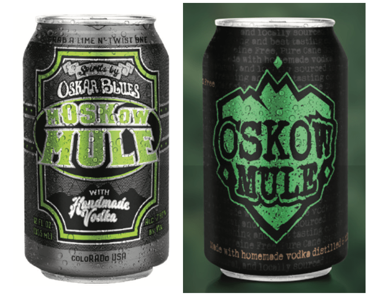 Oskar Blues Brewery CANarchy spirits by oskar blues SOB can design beer packaging design concepts and in market print concepts